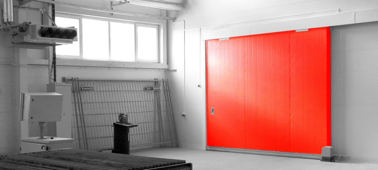 Противопожарные ворота EI60